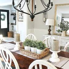 home decor table runner everyday table centerpiece ideas for home decor white chairs and