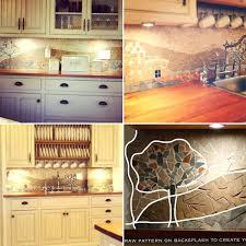 diy kitchen backsplash on a budget creative kitchen backsplash ideas amazing easy cheap kitchen ideas