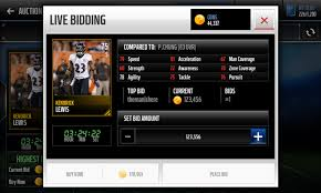 my bid screenshot of my bid mistake madden nfl mobile discussion