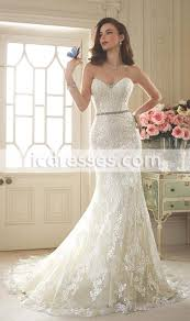 Elegant Sweetheart Corset Lace Mermaid Wedding Dresses 2016 New