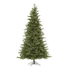 7 5 pre lit led artificial tree balsam fir warm white