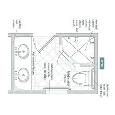 ada bathroom with shower layout home interiror and exteriro