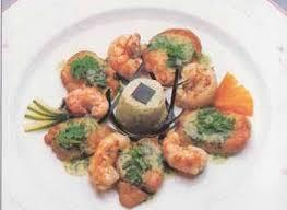cuisine ris de veau médaillons de ris de veau aux langoustines et beurre de cerfeuil