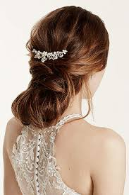 wedding hair combs wedding hair combs david s bridal
