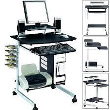 Portable Laptop Desk Walmart Rolling Computer Desk Height Adjustable Rolling Computer Desk Roll