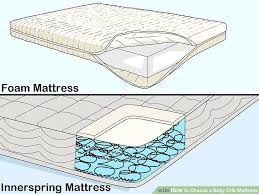 how to choose a baby crib mattress with pictures wikihow