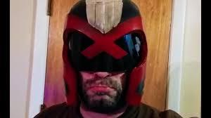 Judge Dredd Halloween Costume Diy Judge Dredd Cosplay Helmet Build
