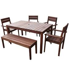 6 seater outdoor dining table 6 seater outdoor dining table set i temple webster