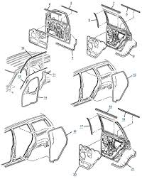 jeep wj grand cherokee door seals and trim free shipping at 4wd com
