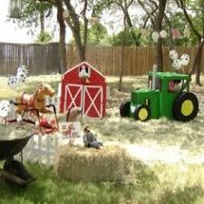 Backyard Birthday Decoration Ideas Farm Birthday Party Table Decorations Kid Parties Pinterest