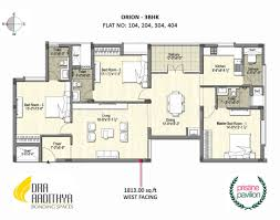 Pavilion Floor Plans by Dra Projects Builders Dra Pristine Pavilion Phase 1 Floor Plan