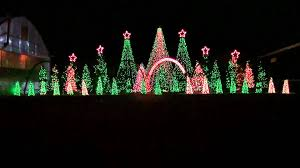 music box dancer synchronized christmas light show to misic