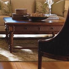 tommy bahama coffee table tommy bahama home island estate boca square wood coffee table in
