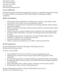 Fraud Analyst Resume Sample by Revenue Management Analyst Resume 1 Development In Early 2017