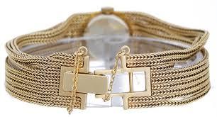 gold multi chain bracelet images Unusual vintage ladies rolex multi chain bracelet watch jpg