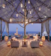 outdoor patio string lights backyard ideas