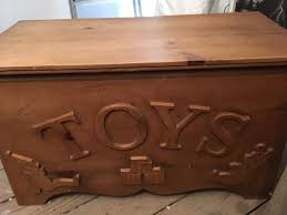 handmade solid wood toybox in leigh manchester gumtree