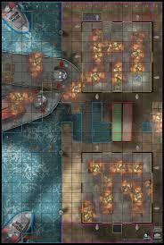 Map Of Gotham City Dc Heroclix No Man U0027s Land Gotham City Waterfront Poncho S