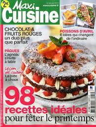 recettes maxi cuisine achat magazine maxi cuisine n 88 en numérique