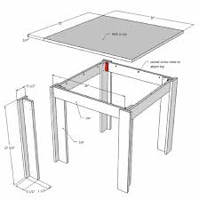 how to make a small table small coffee table plans home design 9 using stair balusters free