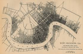 New Orleans City Map Louisiana Maps Perry Castañeda Map Collection Ut Library Online