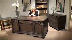 Belmeade Executive Desk And File Cabinet By Riverside Furniture