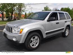 silver jeep grand cherokee 2007 2005 jeep grand cherokee laredo 4x4 in bright silver metallic