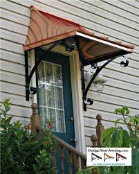 Copper Awnings For Homes Front Door Awnings Best Home Furniture Ideas
