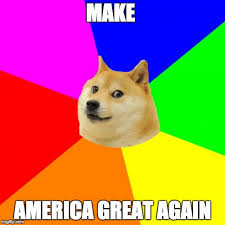How To Make A Doge Meme - advice doge meme imgflip