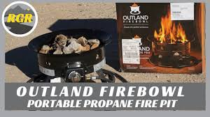 Propane Camping Fire Pit Outland Firebowl Product Review Portable Propane Fire Pit