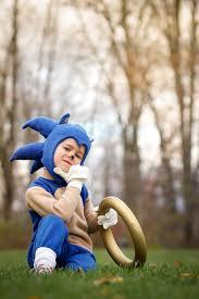 Sonic Shadow Halloween Costume Diy Sonic Hedgehog Costume Costume Ideas Kids