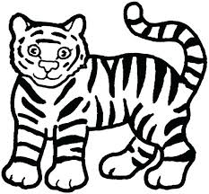 coloring page tiger paw coloring pages of tiger tiger cub coloring pages tiger pictures to