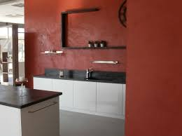 beton ciré mur cuisine bton cir cuisine beton cir cuisine moderne blanche laque