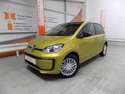 volkswagen yellow volkswagen up move up yellow 2017 11 01 in mitcham london