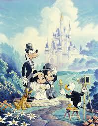 mickey minnie wedding u0027 u0027 painting randy souders hidden