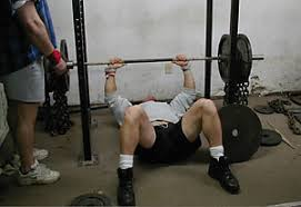 200 Lbs Bench Press Weight Training With Bench Press Chains