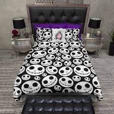What Is A Bed Set Lightweight Skellington Bedding Nightmare Before