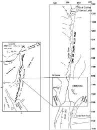 Plate Boundaries Map A Outline Of The Dead Sea Transform Plate Boundary And The