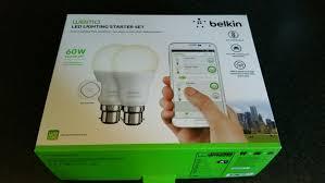 Belkin Wemo Light Switch Belkin Wemo Smart Light Bulb Starter Kit U2013 Review Gavin U0027s Gadgets