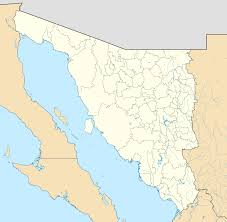 Mexico On Map by File Mexico Sonora Location Map Svg Wikimedia Commons