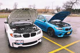 bmw ceo faint bimmerfile comparison bmw m2 vs the bmw 1m bimmerfile