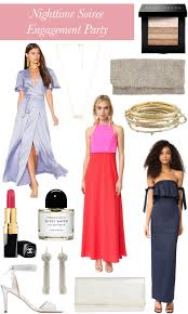 wedding wednesday what to wear to an engagement party