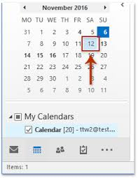 Which Date Is How To Bold Dates In Small Calendar On Navigation Pane In Outlook