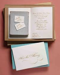 anatomy of an invitation for every style of event martha stewart