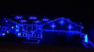 blue white wire mini lights kringle