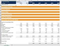 operating model template financial model templates 3 statement model dcf lbo