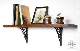 Rustic Wood Bookshelves by 23