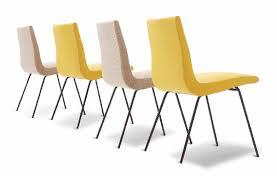 chaise ligne roset chaise visiteur contemporaine tapissée déhoussable en tissu