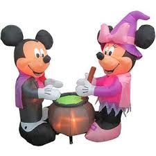 Light Up Halloween Outdoor Decorations by Mickey Mouse Outdoor Inflatables Decorations Halloween Wikii
