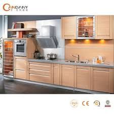 Candany Environmentally Friendly Pvc Kitchen CabinetLshaped - Kitchen cabinet drawer rails